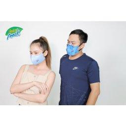 Khẩu trang than hoạt tính 4 lớp Asia Mask ( xé dán sau gáy)