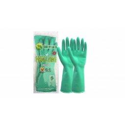 Găng tay cao su Nam Long - Xanh